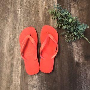 Havaianas coral sandals 39/40